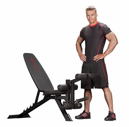 Marcy Adjustable 6 Position Leg Machine