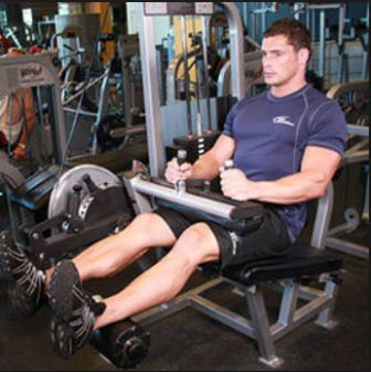 Exercise 3 Hamstring-step2 - Seated Leg Curls