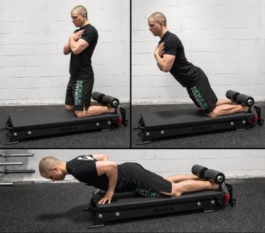 Exercise 4 Hamstring - Floor Glute Ham Raise