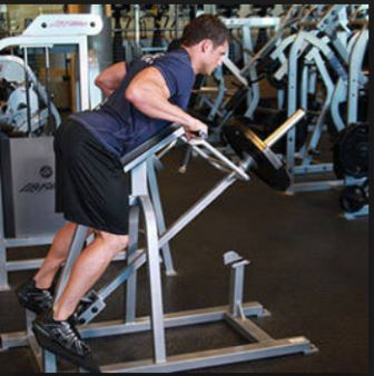 Exercise 4 Lats- step 2 - Lying T Bar Row