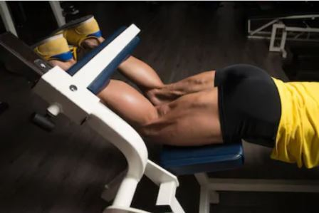Hamstring exercises for men