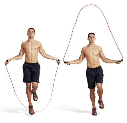 calf exercise 1 - Jump Rope