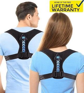 SR posture corrector brace