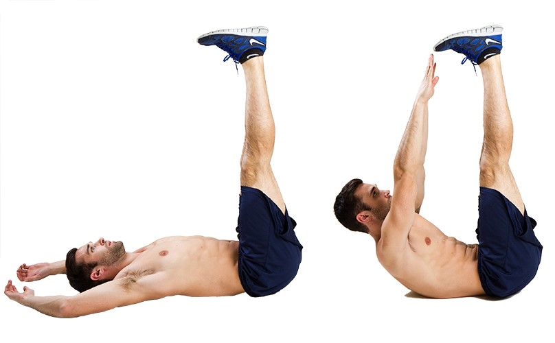 Abdominal Workout 7 - Toe Touche
