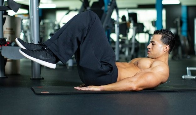 Abdominal Workout 6 - Reverse Crunch