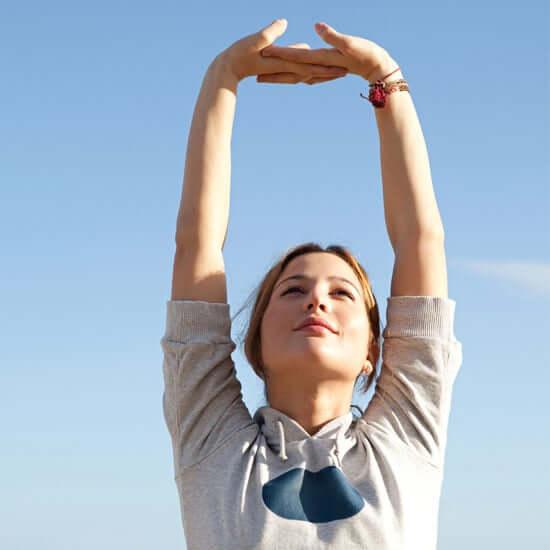 Arm Overhead Stretch - shoulder Stretch