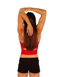 Arm stretches for Triceps