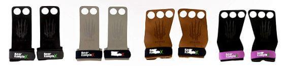 Bear KompleX 3 Hole Leather crossfit Grips - colors