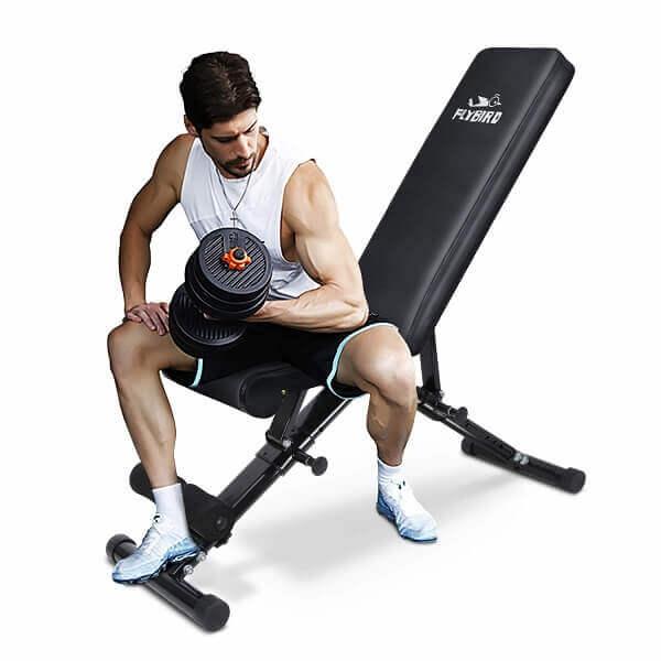 Best Foldable Weight Bench -2 FLYBIRD Weight Bench