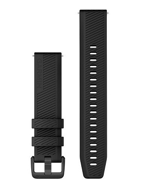 Black Garmin watch strap fit wrist 127-204 mm