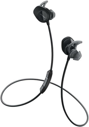 Bose Wireless Bluetooth Sports Headphones (Sweat Resistant) Black