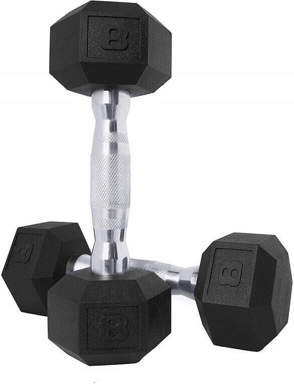 CAP Barbell Coated Hex Dumbbells
