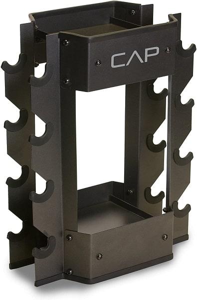 CAP Dumbbell and Kettlebell vertical Storage Rack