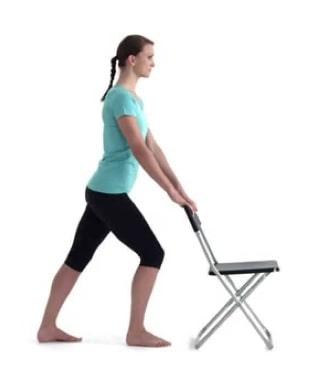 Calf Chair Stretch Forward
