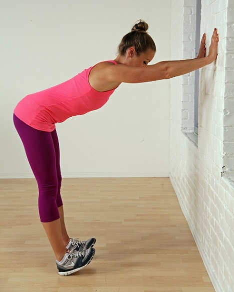 Calf Shoulder Stretch Wall