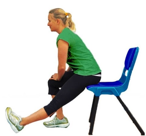Calf Pain Relief Exercises - Calf Stretch While Seated