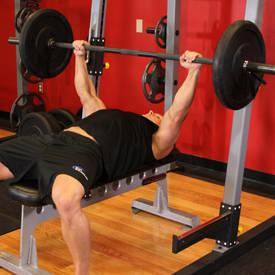 Chest exercise 1 Step 2 - Barbell Bench Press Workout