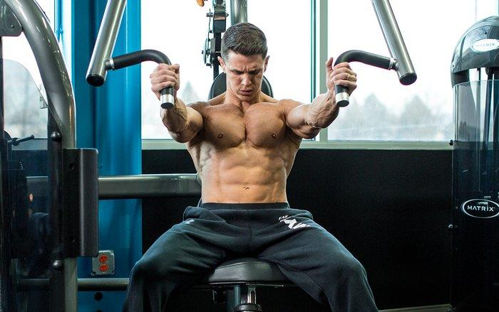 Chest exercise 4 - Seated Machine Chest Press