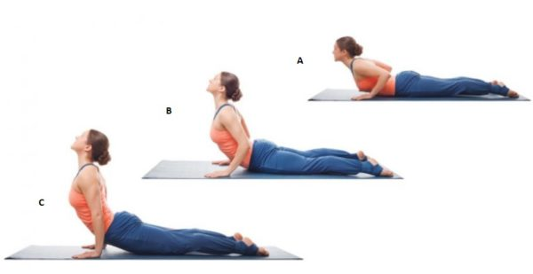 Cobra Pose - women