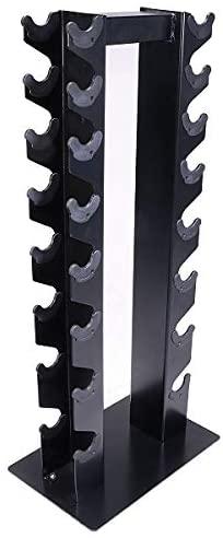 Deltech DF5200 8 Pair Vertical Dumbbell Rack