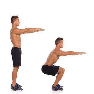 Exercise 2 Thighs - Narrow Leg Squat