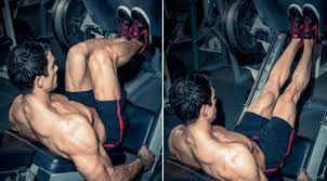 Exercise 4 Thighs - Narrow legged Leg Press