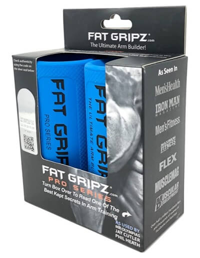 Fat Gripz Pro to convert standard bar into axel bar to build a thicker muscles