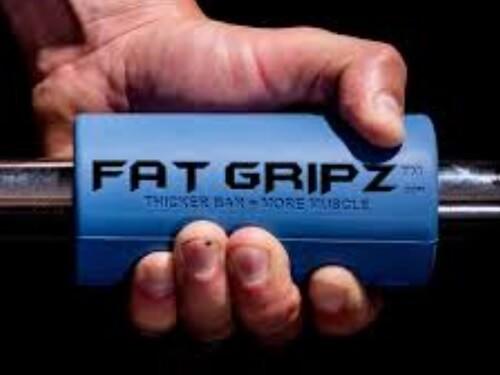Fat Gripz Pro while arm workout