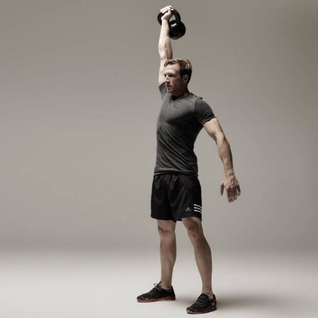 Overhead Carry (Waiter Carry) Forearms Exercise 5