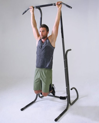 Pull-Up Bar Hang Forearms Exercise 8