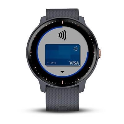Garmin Pay Vivoactive 3 wireless payment
