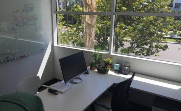 Office near window