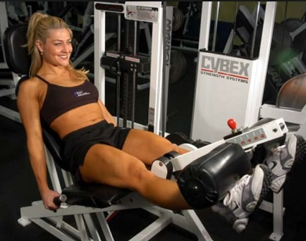 Leg Extension for Women Quads
