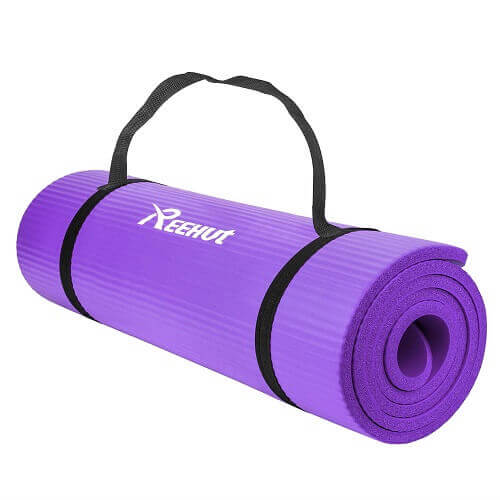 REEHUT Extra Thick High Density - Best Yoga Mat for Joint Pain