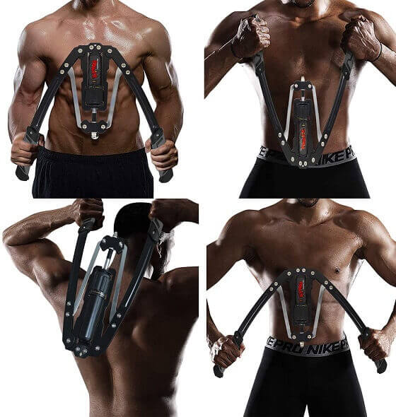 Reliance different workout routine-chest-traps