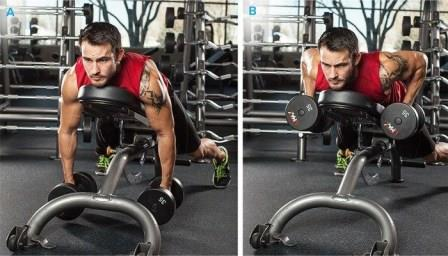 Shoulder-Exercise-3 - Dumbbell Incline Row