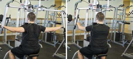 Shoulder-Exercise 8 - Machine Rear Delt Exercises