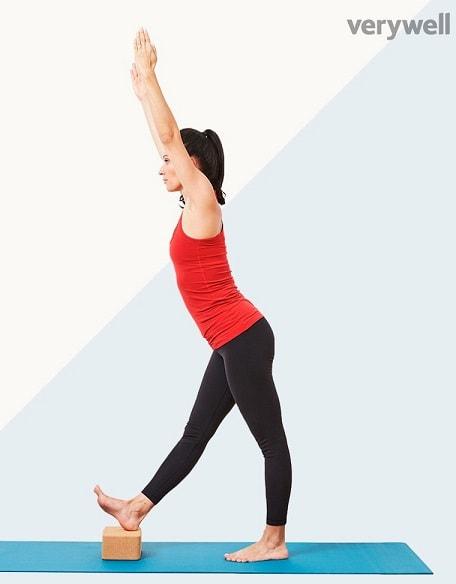 Standing Hamstring Stretch - One Leg