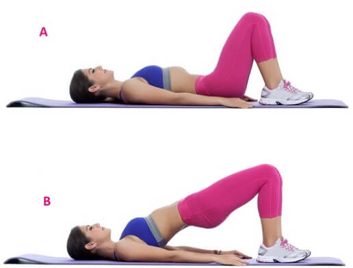 Glute Bridge for Women workout