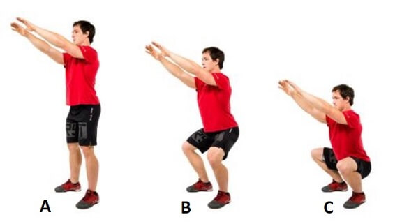 Air Squat for Women Hamstring