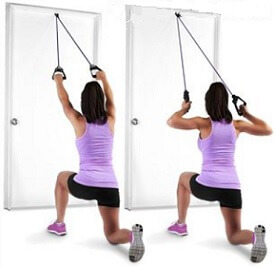 Resistance Band Lat Pulldown for Women Lats
