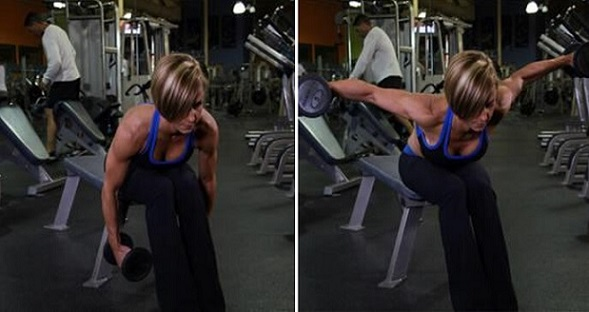 Bent Over Rear Lateral Raise workout for Women