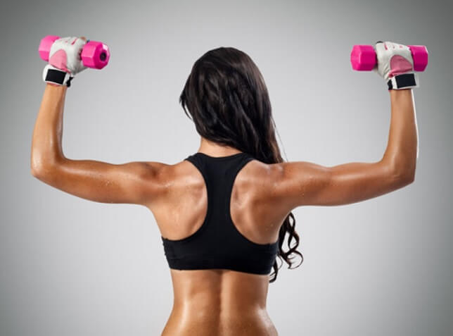 back shoulders workout for women