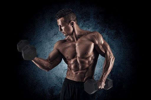 bicep workouts for men at home with dumbbells