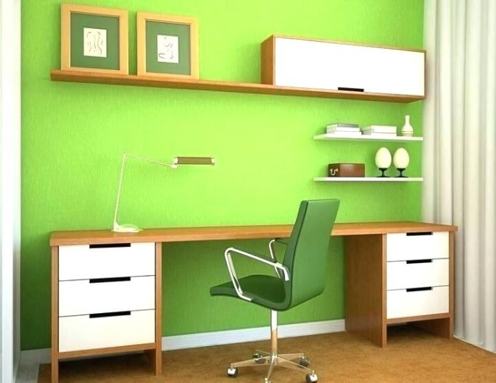 painting office green